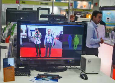CeBIT Australia 2012 - Sibers at exhibition floor
