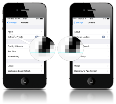 Pixel by pixel mobile design - font rendering